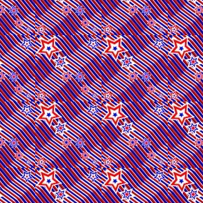 Red, White & Blue Stars & Stripes2