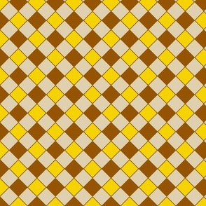 check brown-yellow