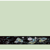 Turtle, Lotus and Frog Border