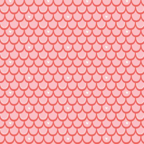 splishy_splashy_coral fabric by stacyiesthsu on Spoonflower - custom fabric