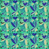 blue/green/seen