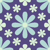 U846X tiny floral - blue
