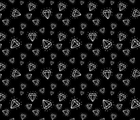 diamond_pattern_ fabric by kostolom3000 on Spoonflower - custom fabric