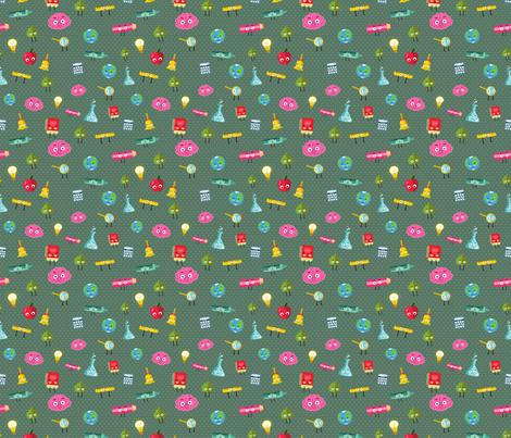 SCHOOL  fabric by kostolom3000 on Spoonflower - custom fabric