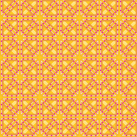 Kolonaki Triangles - Yellow