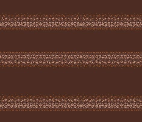 Brown Horizontal Textured Stripe