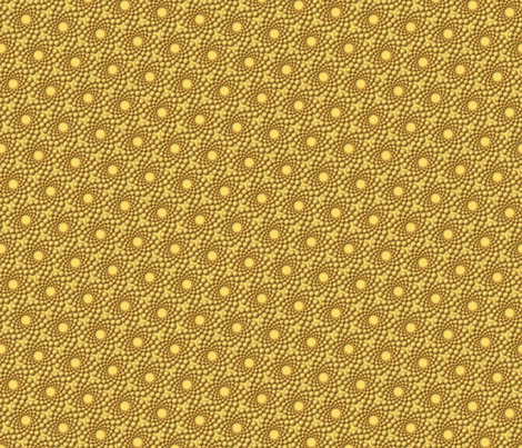 coolswirl 2ex gilded cream fabric by glimmericks on Spoonflower - custom fabric
