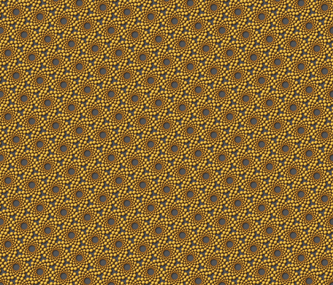 coolswirl 2ix gold steel fabric by glimmericks on Spoonflower - custom fabric