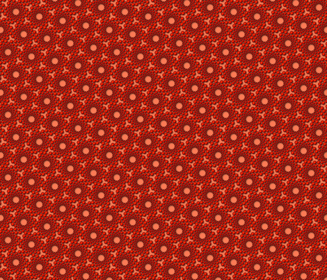coolswirl 2kx fire coral fabric by glimmericks on Spoonflower - custom fabric