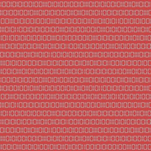 Robot Binary (Red and Gray)