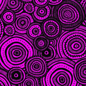 Tribal Circles (Pink)