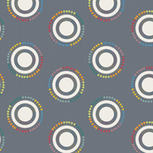 pin circles on gray