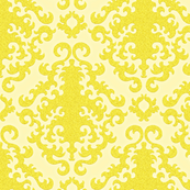 Golden Glitter Damask