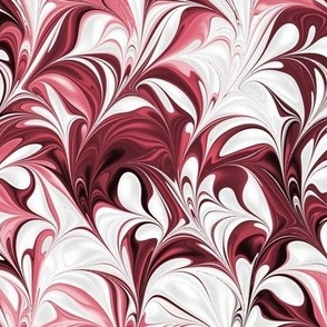 Cherry-White-Swirl