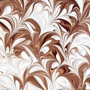 Clay-White-Swirl