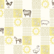 Sunflower farm quilt