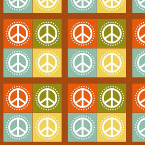 Peace Cheater Quilt
