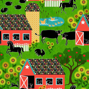 I spy with my little eye ~ farm animals
