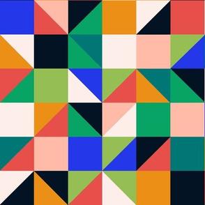 Cosmic Voyage - Geo Grid by Andrea Lauren