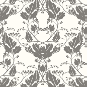 Holly & Ivy Damask