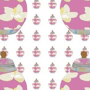 A Pink Asian Jar