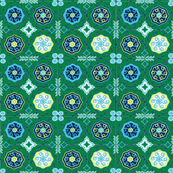SOOBLOO MEDALLIONS GREEN-ch