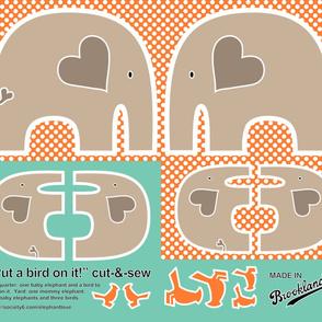 Cut-and-Sew Elephant