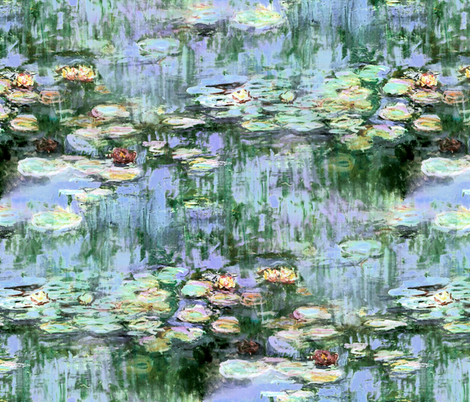 Monet's Waterlilies ~ Regency Sunrise