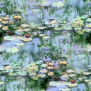 Monet's Waterlilies ~ Regency Sunrise