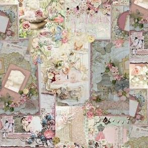 Shabby Sweet Collage