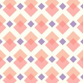 Pink and purple pastel squares
