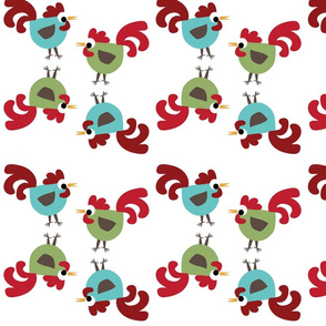 A Funky Rooster Kitchen