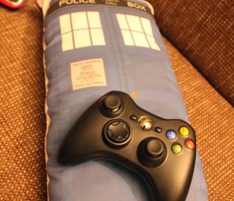 Tardis cushions
