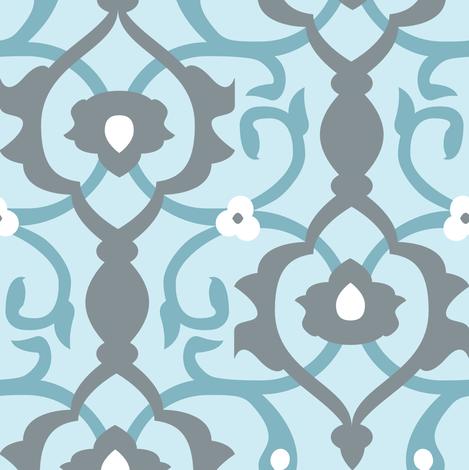 Spa Arabesque fabric by audsbodkin on Spoonflower - custom fabric
