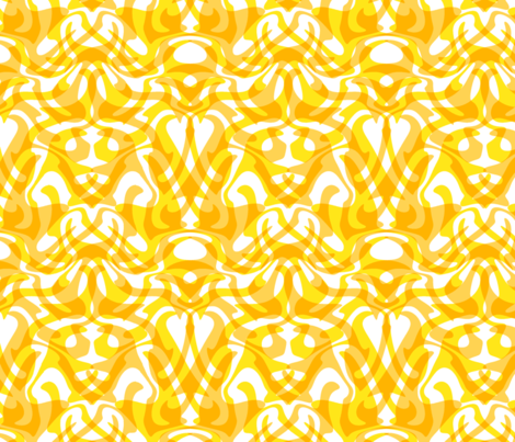 dotgold damask fabric by weavingmajor on Spoonflower - custom fabric