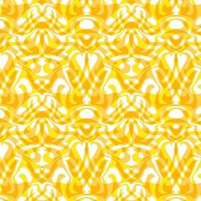 dotgold damask