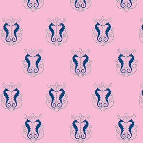 Cotton candy seahorses