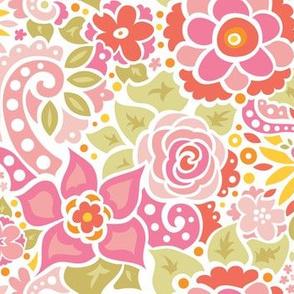 Rose Pink Floral