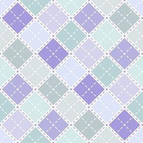 Lavender Plaid