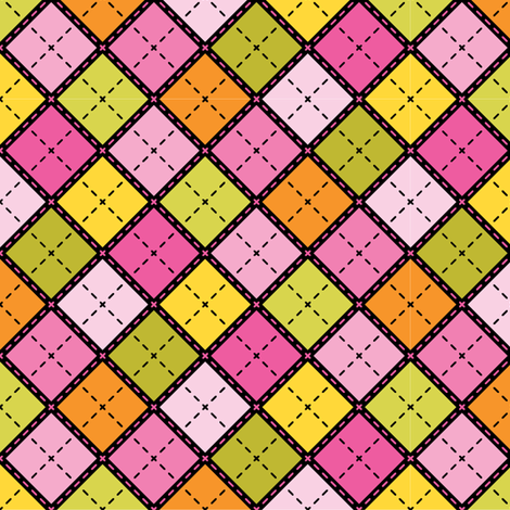 Black & Pink Plaid