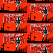 Comic Logo Walking Dead