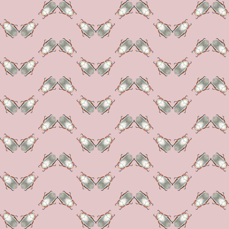 silver scarab chevron fabric by keweenawchris on Spoonflower - custom fabric