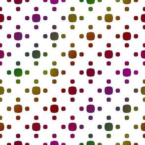 Rainbow Micro Squares
