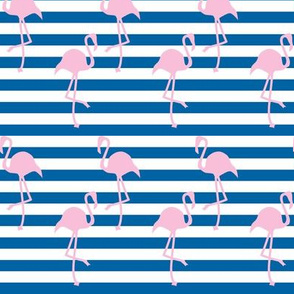 Nautical Flamingo ©2014 Jill Bull