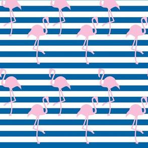 Nautical Flamingo ©2014 Jill Bull