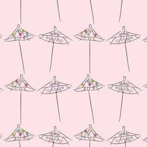 drink umbrella ©2015 Jill Bull