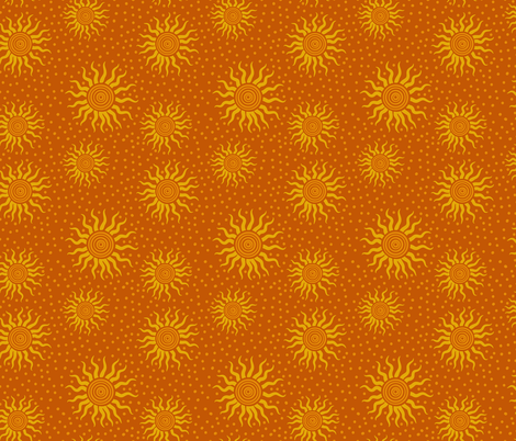 Cosmic Sun Rays fabric by shellypenko on Spoonflower - custom fabric