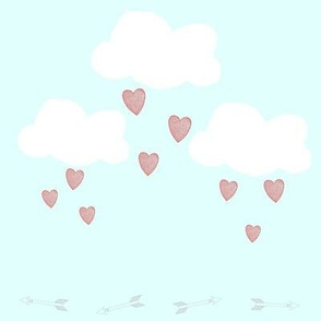 Clouds, Hearts, & Arrows
