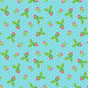 Ditsy Dot Floral
