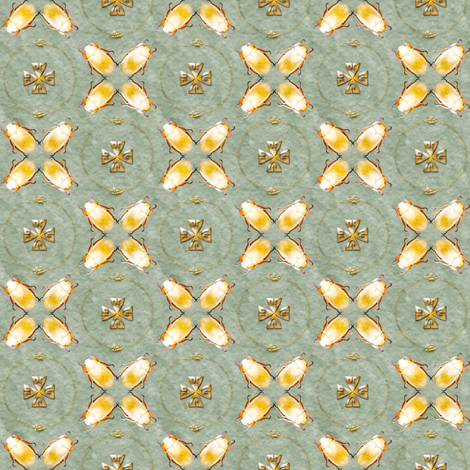 golden scarab  fabric by keweenawchris on Spoonflower - custom fabric